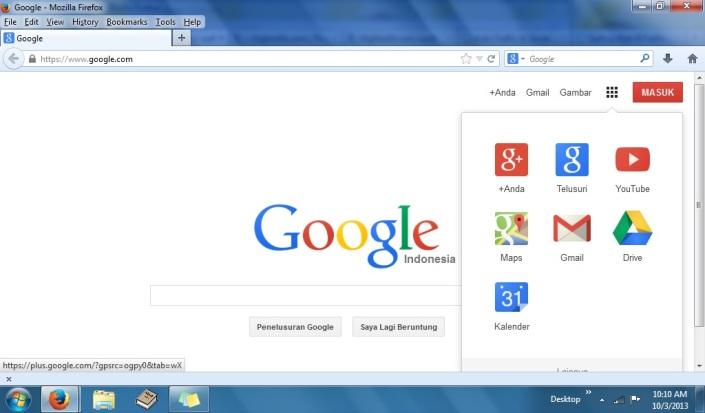 Google Aplikasi Oktober 2013