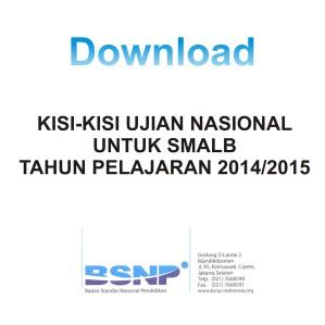 Download Kisi-kisi SMALB