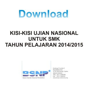 Download Kisi-kisi SMK