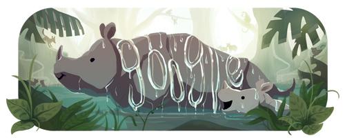 google-doodle-25th-anniversary-ujung-kulon-park